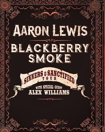Aaron Lewis & Blackberry Smoke Tour Logo