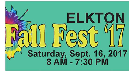 Elkton Fall Festival poster