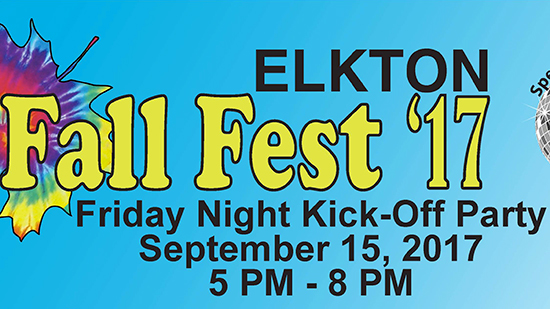 Fall Fest Friday Night Kick-Off Party poster