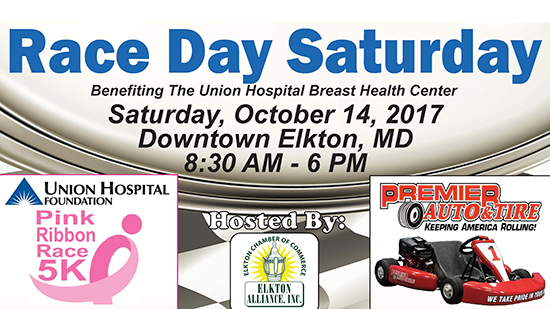 Race Day Saturday poster