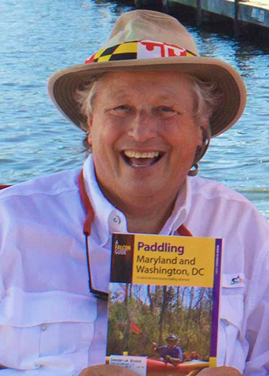 Author Jeff Lowman with his book