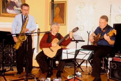 Photo of the Music Pilgrim Trio