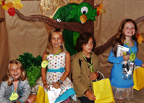 Young guests at the Search for the Snallygaster Program