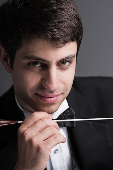 Nicholas Hersh conductor of the BSO