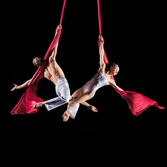 Alexander Streltsov and Christine Van Loo perform