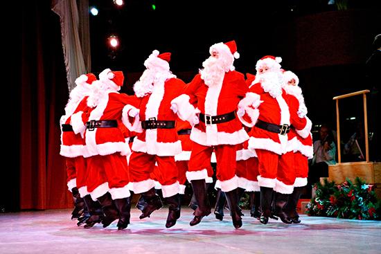 Baltimore School for the Arts Dancing Santas