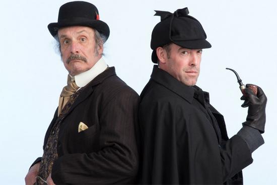 Photos of Sherlock Holmes & Dr. Watson
