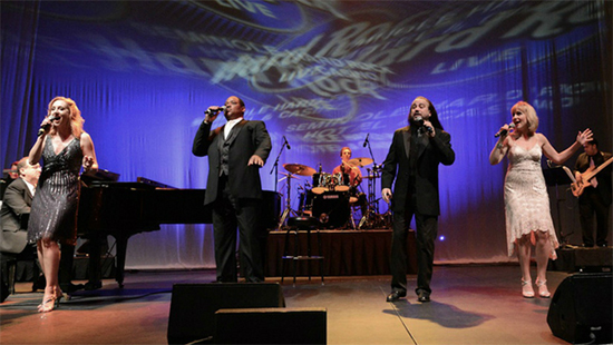 Neil Berg's 50 Years of Rock And Roll performs on stage