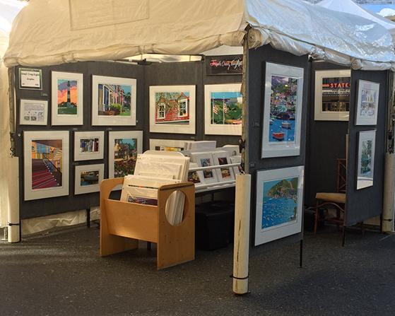Washington Grove display