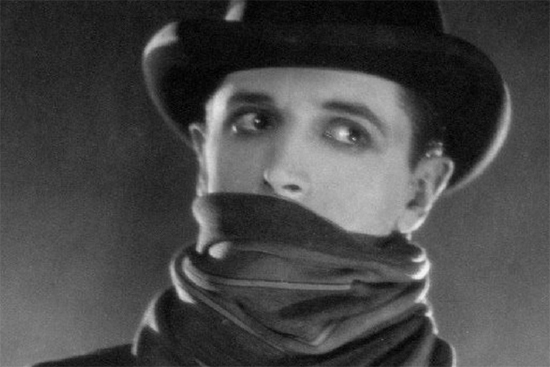Movie Still of The Lodger from the Hitchcock film