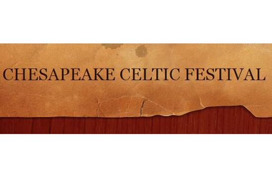 Chesapeake Celtic Festival poster title
