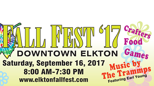 Elkton Fall Fest billboard