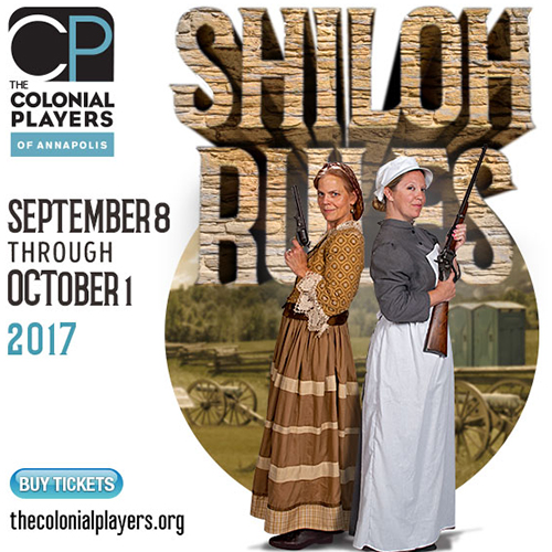 Colonial Players presents Shiloh Rules poster