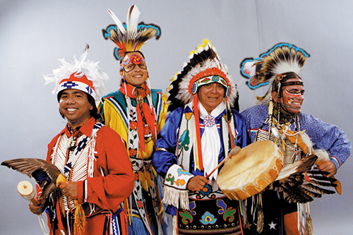 Image of the Thunderbird American Indian Dancers