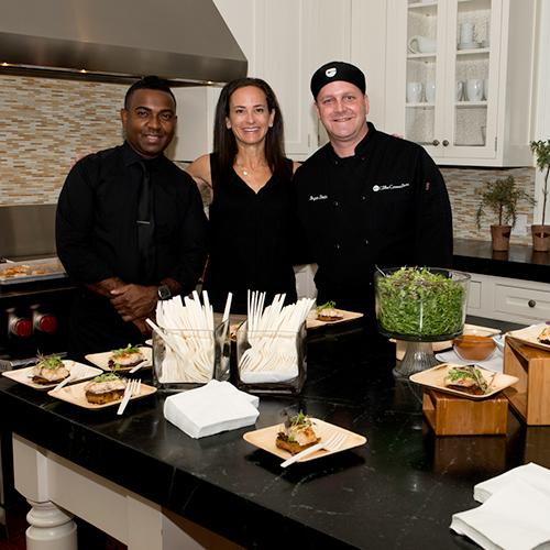 Chefs offer gourmet foods in stunning kitchens