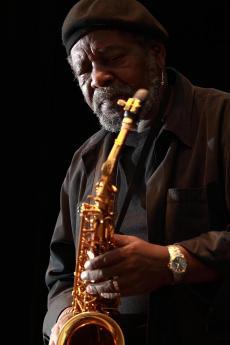Saxophonist Carl Grubbs
