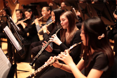 MD Classic Youth Orchestras of Strathmore perform