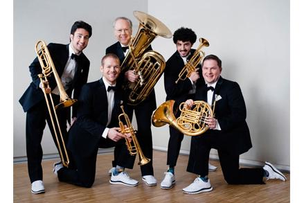 Canadian Brass musicians