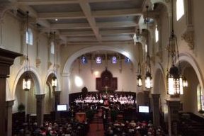 Messiah performed by Annapolis Chorale in St. Anne's Church