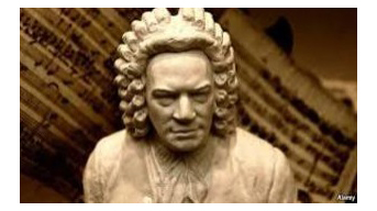 Classic Sculpture of Bach