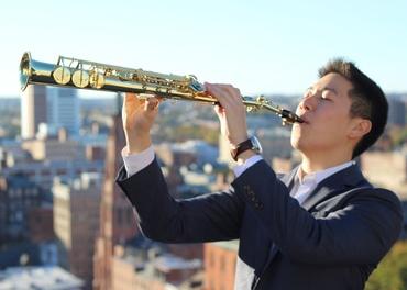 Saxophonist Tae Hwang