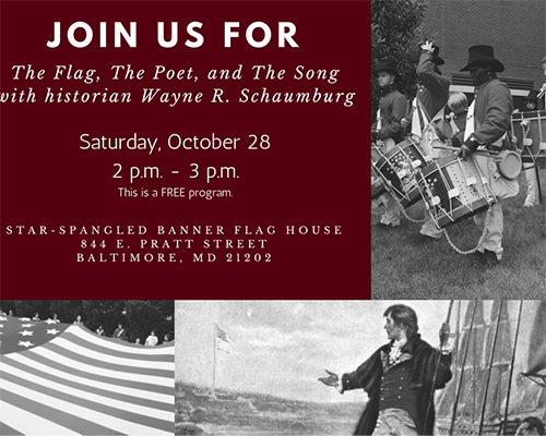 The Flag, Poet, and Song, with Wayne Schaumburg poster