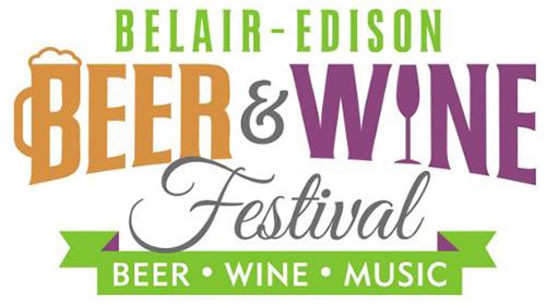 Logo for the Belair Edison Beer & Wine Festival