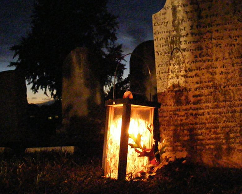 Photo from Frederick's candlelight tour.