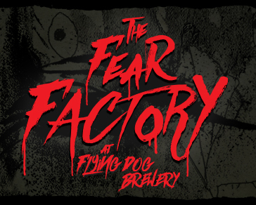 The Fear Factory at Flying Dog Brewery logo