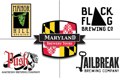 Howard County breweries logos