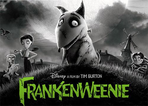 Frankenweenie - Disney's Animated Film poster