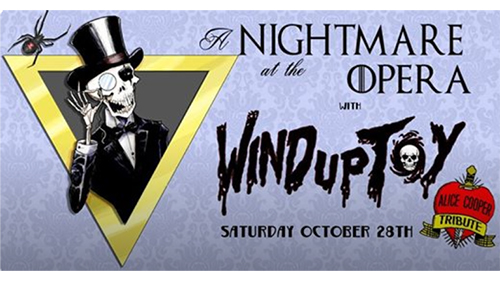 Wind Up Toy - Alice Cooper Tribute Band Poster