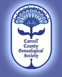 Carroll County Genealogical Society logo