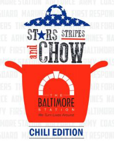 Stars, Stripes & Chow - Chili Edition logo