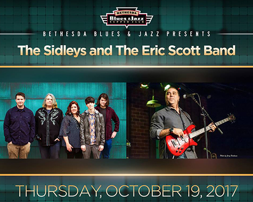 The Sidleys and The Eric Scott Band poster
