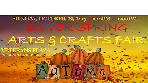 Silver Spring Arts & Crafts Fall Fair poster