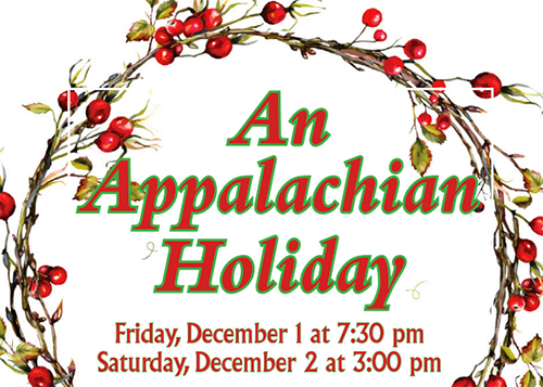 An Appalachian Holiday Concert poster