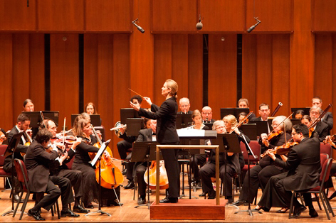 Anna Binneweg and AACC Symphony Orchestra
