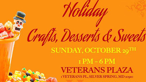 Holiday Crafts, Desserts & Sweets poster