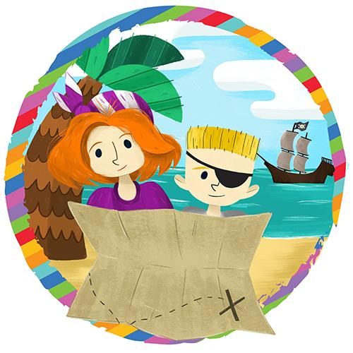 Adventure Theatre MTC Illustration