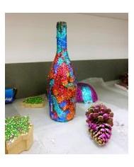 Glitter Fest art pieces
