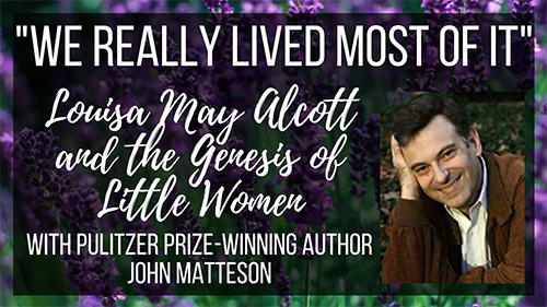 Pulitzer-Prize winning author, John Matteson.