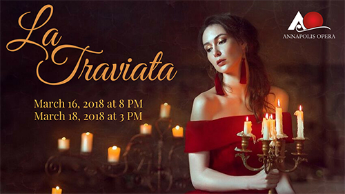 Annapolis Opera presents 'La Traviata'