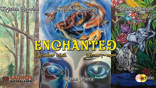 Artists Compound Presents Enchanted
