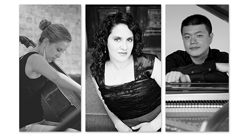 C I R C E Ensemble portraits of each member