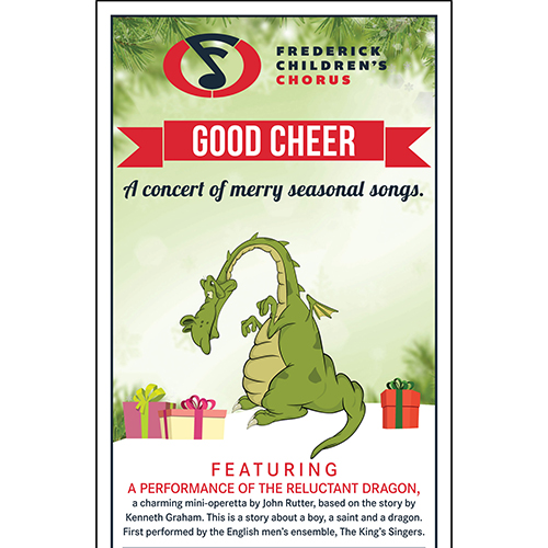Good Cheer poster with the Reluctant Dragon