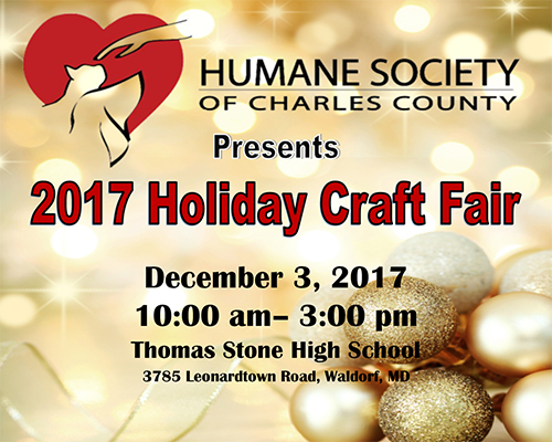 2017 Holiday Craft Fair poster