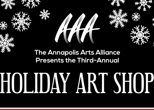 Annapolis Arts Alliance Holiday Pop Up flyer
