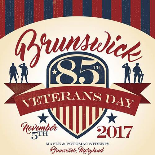 Brunswick Veterans Day Parade flyer