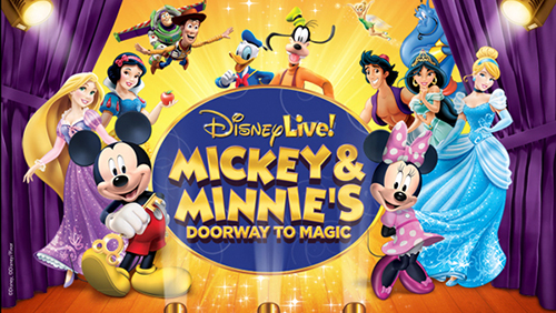 Disney Live! Mickey & Minnie's Doorway to Magic  poster
